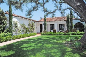 2 - exterior spanish style home white red tile roof cococozy